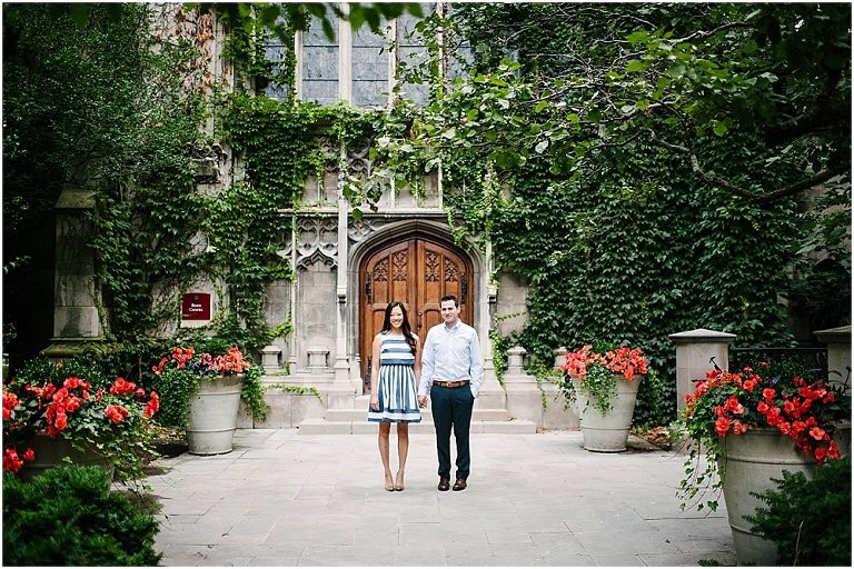 Chicago Engagement Photography University of Chicago Bond Chapel Promontory Point Engagement Jasmine Nicole Photography -7