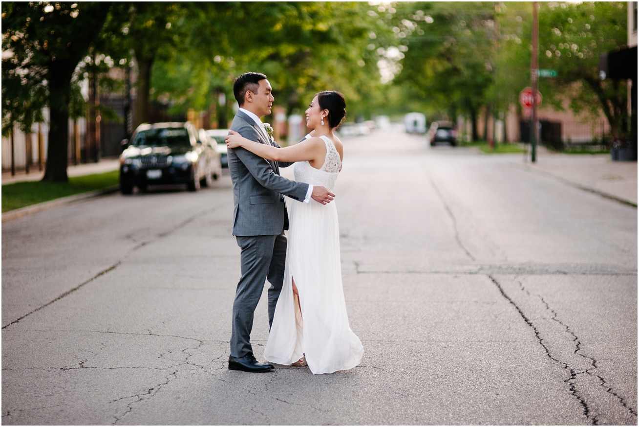 Grace + Josh | Wedding at the Kitchen Chicago and Portraits at the ...